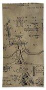Antique Dental Chair Patent Bath Towel