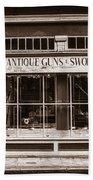 Antique Guns And Swords - French Quarter Bath Towel