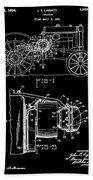Antique Tractor Patent Bath Towel