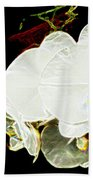 Aos White Orchid 1 Bath Towel