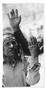Apache's Signing 100th Anniversary Fort Apache Arizona 1970 Bath Towel