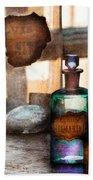 Apothecary - Oleum Rosmarini  Bath Towel