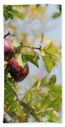 Apple Pickin' Time Bath Towel