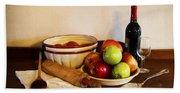 Apple Pie Impressions Bath Towel