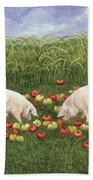 Apple Sows Hand Towel