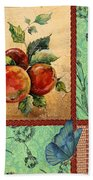 Apple Tapestry-jp2203 Bath Towel