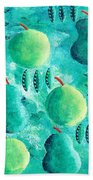 Apples And Pears Bath Towel
