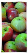 Apples Apples And More Apples Bath Towel