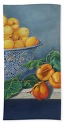 Apricots And Peaches Bath Towel