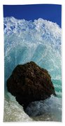 Aqua Dome Bath Towel by Sean Davey