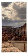 Arch Bridge And Hoover Dam Bath Towel