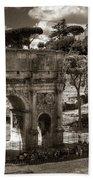 Arch Of Contantine Bath Towel