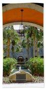 Arched Courtyard Bath Towel