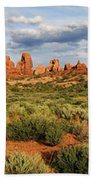 Arches National Park Panorama Bath Towel