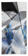 Architectural Abstract Bath Towel