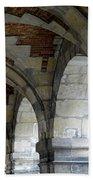 Architectural Artwork At Place De Vosges Bath Towel