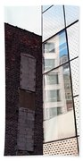 Architectural Juxtaposition On The High Line Bath Towel
