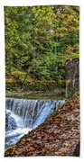 Areuse Gorge Bath Towel