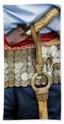 Argentina Gaucho Coin Belt Bath Towel