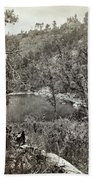 Arizona Apache Lake, 1873 Bath Towel
