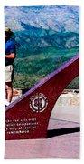 Arizona Highway Patrol Memorial Bath Towel
