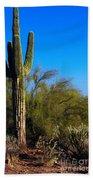 Arizona Saguaro Bath Towel