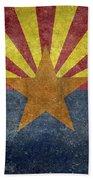 Arizona State Flag Bath Towel