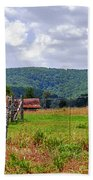 Arkansas Farmland Bath Towel