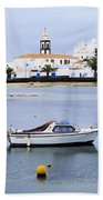 Arrecife On Lanzarote Bath Towel