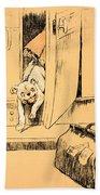 Arriving At Our Destination Bath Towel by Cecil Charles Windsor Aldin
