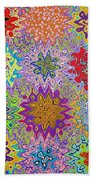 Art Abstract Background 13 Bath Towel