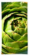 Art E. Choke - Artichokes By Diana Sainz Bath Towel