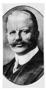 Arthur Zimmermann (1864-1940) Hand Towel