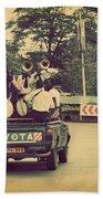 Arusha. Tanzania. Africa. A Group Of Young Men Celebrating Their Graduation Bath Towel