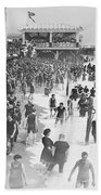 Asbury Park - New Jersey - 1908 Bath Towel