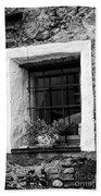 Ascona Window Bw Bath Towel