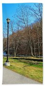 Ashuelot River In Hinsdale Bath Towel
