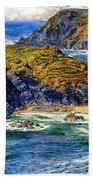 Aspargus Island Bath Towel