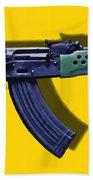 Assault Rifle Pop Art - 20130120 - V2 Bath Towel