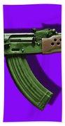 Assault Rifle Pop Art - 20130120 - V4 Hand Towel