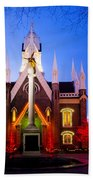 Assembly Hall Slc Temple Hand Towel