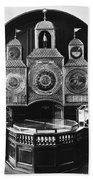 Astronomical Clock, C1750 Bath Towel