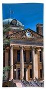 Athens Alabama Historical Courthouse Bath Towel