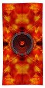 Audio Kaleidoscope Bath Towel