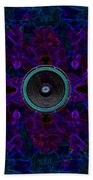 Audio Purple Glow Bath Towel