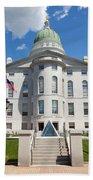 Augusta Capitol Building Bath Towel