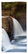 Ausable Chasm Waterfall Bath Towel