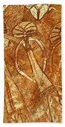 Australia Ancient Aboriginal Art 3 Bath Towel