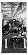 Automobile Display, 1904 Bath Towel