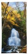 Autumn At Moss Glenn Falls Bath Towel